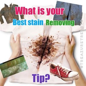 Looking For Your Best Stain Removal Tips!